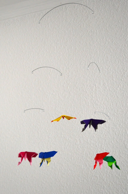 Origami Sommerfugle Uro, Mobiles by Sine Smed
