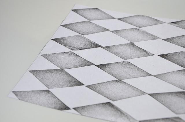 Papir med romber
