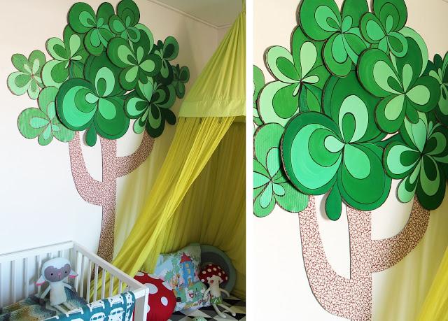 Den Kreative Sky: Træ i pap