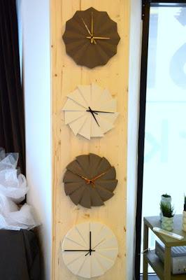 Trine Rytter Ceramics, Inhouse, geometriske vaser, Geometriske ure