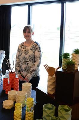 Trine Rytter Ceramics, Inhouse, geometriske vaser
