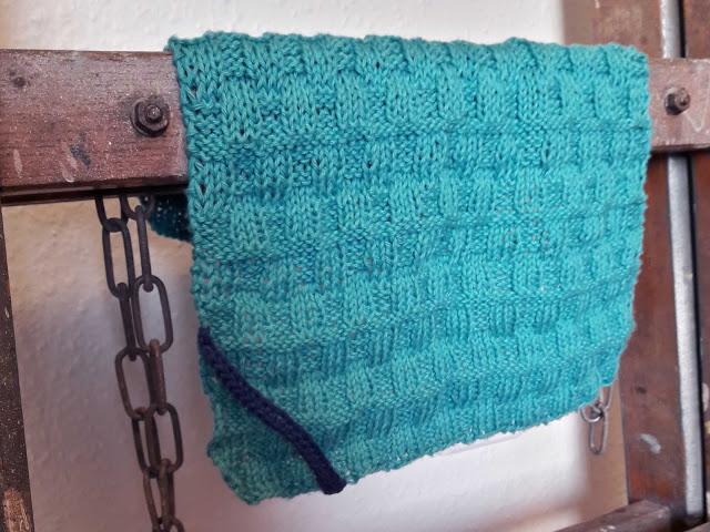 DIY, strik, håndklæde, knitted towel
