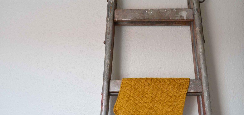 DIY, Strikket håndklæde, knitted towel