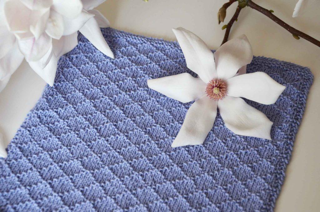 gratis opskrift på strikkede håndklæder