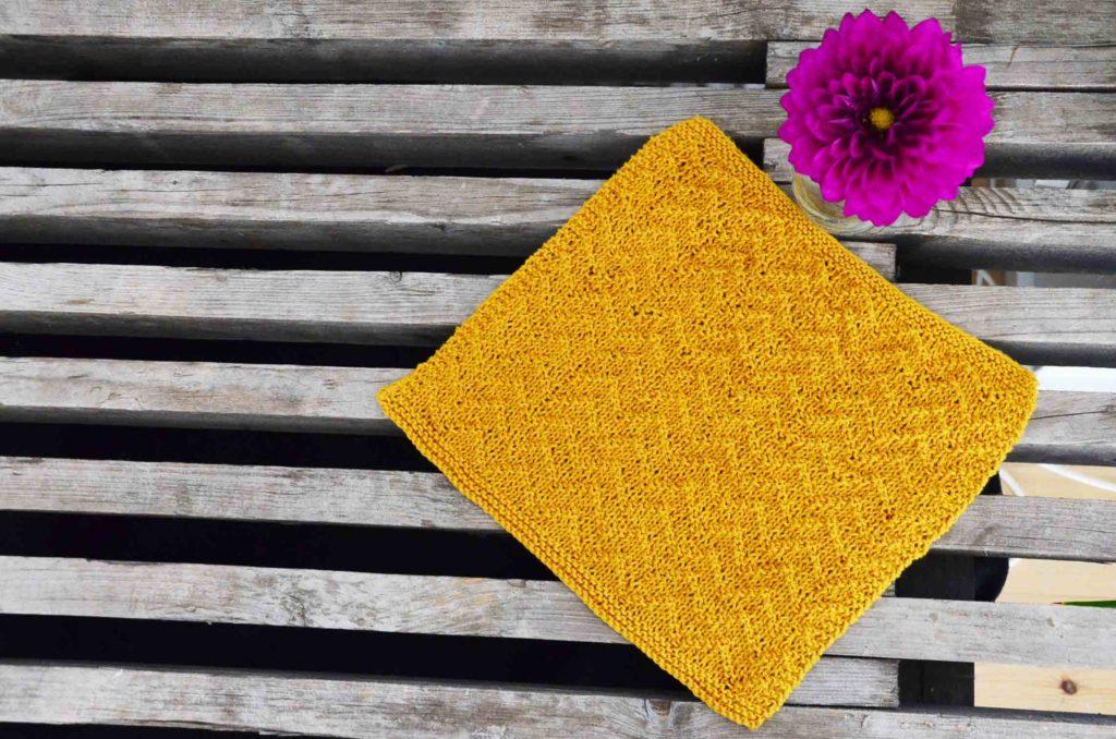 opskrift strikket karklud