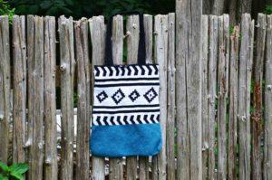 Hæklet mulepose totebag opskrift DIY