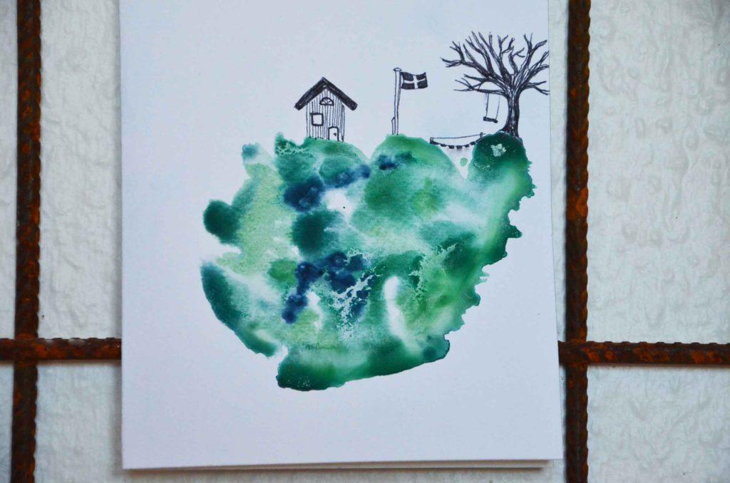 Akvarel DIY