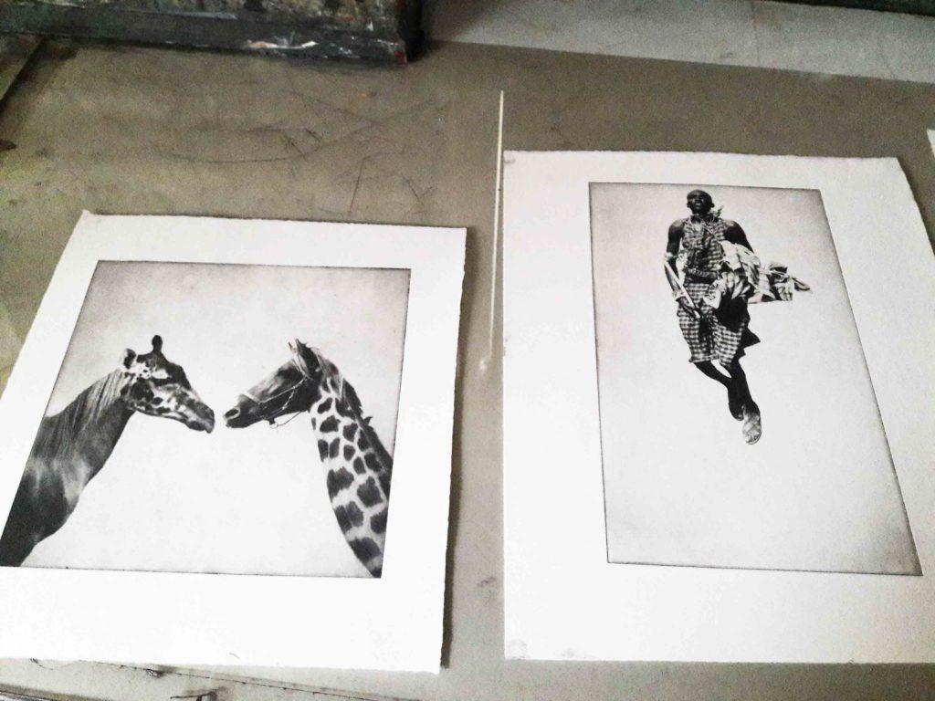 Fyns Grafiske Værksted, Lea Hofffmann, fotogravour
