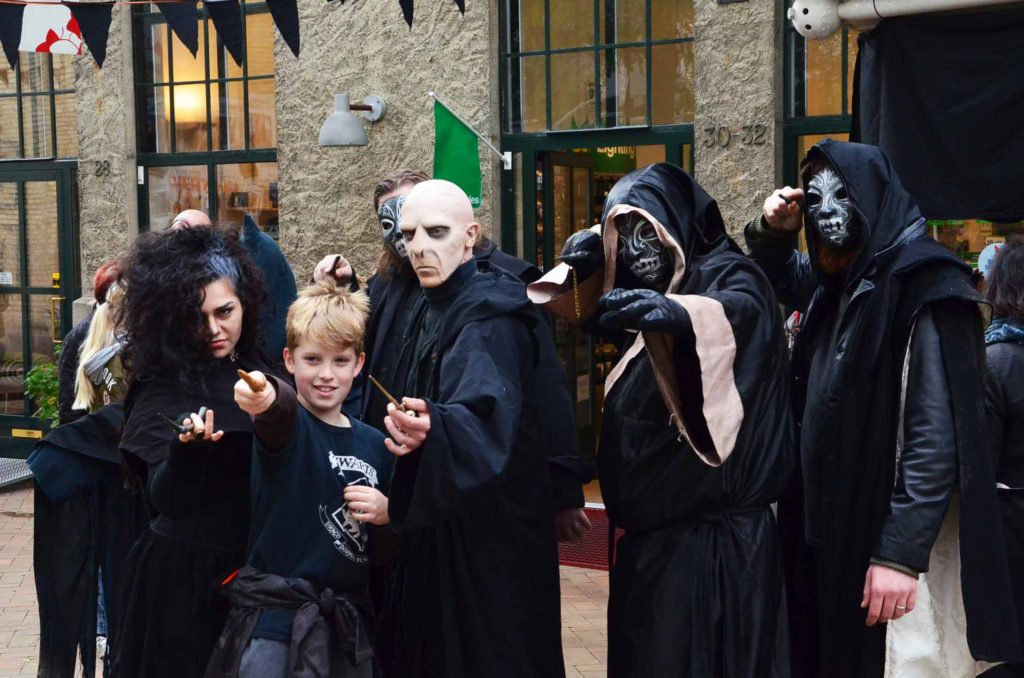 Harry Potter festival Death Eaters