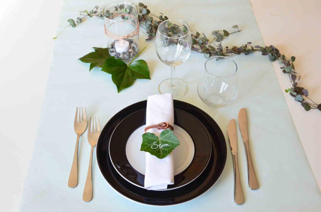 Borddækning , Bordkort , konfirmation , bryllup , bordopdækning , Billige og nemme bordkort