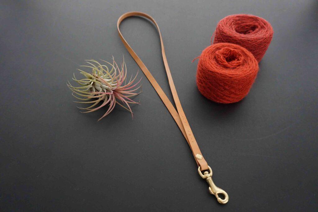 Keyhanger læder