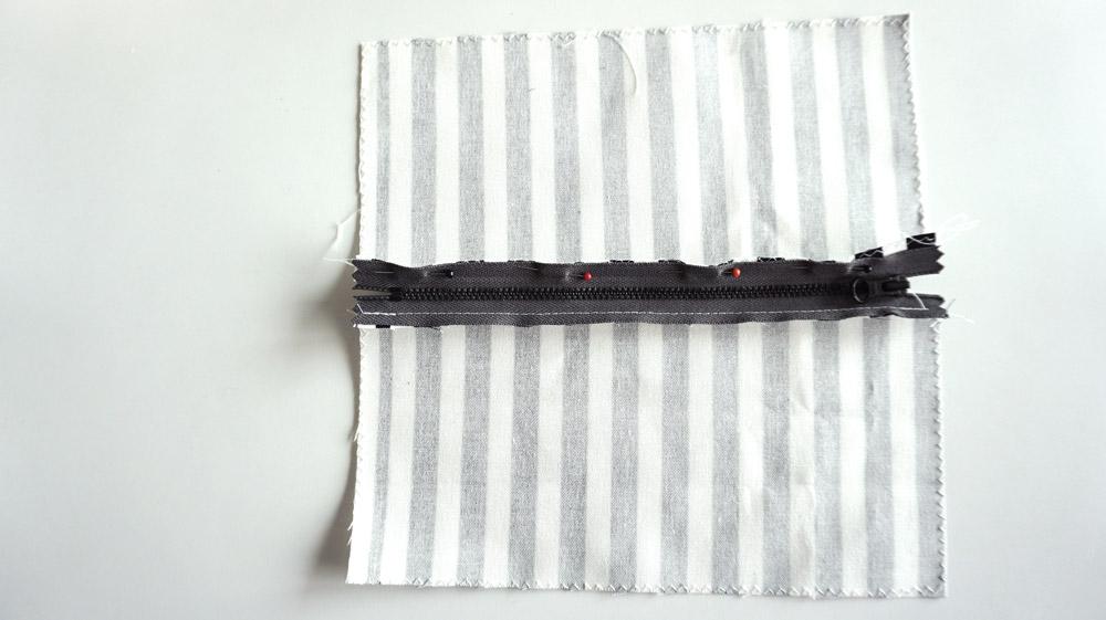 Hæklet pung med lynlås